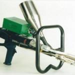 Extrusion welding machine